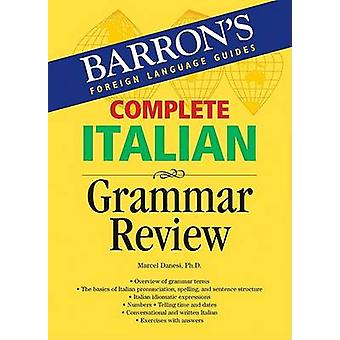 Complete Italian Grammar Review by M. Danesi - 9780764134623 Book
