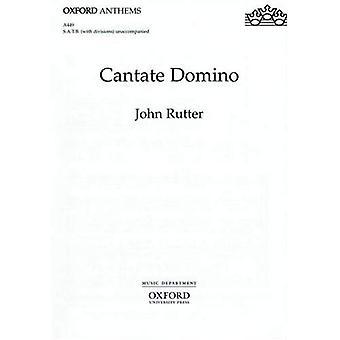 Cantate Domino: Klavierauszug