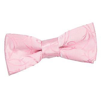 Baby rosa turbinio pre-legato papillon per ragazzi