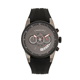 Morphic M72 Series Strap Watch - Black/Charcoal