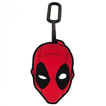 Deadpool bagagelabel.