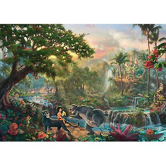 Schmidt Kinkade: Disney The Jungle Book puslespill (1000 stykker)