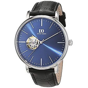 Dansk Design 3314520-mænds armbåndsur, læder, farve: sort