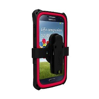 Trident Kraken Protective Case for Samsung Galaxy S4 - Red/Black