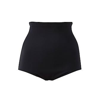 Elomi Essentials Es7604 High Waist Bikini Brief Black (blk) Cs