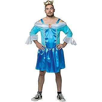Comic Male Cinderella Costume Adult