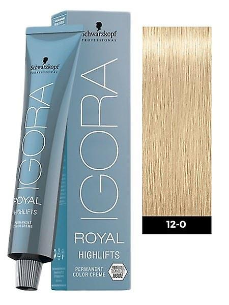 Schwarzkopf Igora Royal Highlifts 12-0 Special Nature Blonde 60ml
