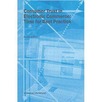 Konsumenternas förtroende för elektronisk handel tid för bästa praxis av De Bruin