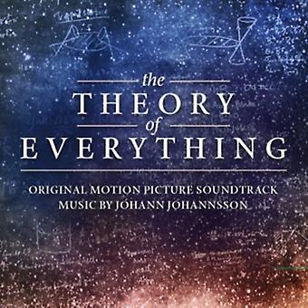 Johann Johannsson - Theory of Everything / O.S.T. [CD] USA import