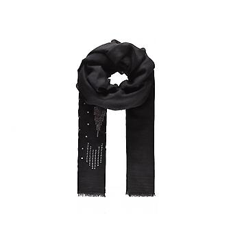 Intrigue Womens/Ladies Sequin Arrow Embellished Scarf