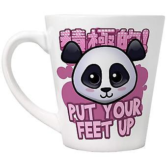 Handa Panda Put Your Feet Up Latte Mug