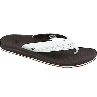 New Balance  W6086BRWT Womens flip-flops