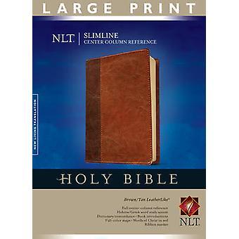 Slimline Center Column Reference Bible-NLT-Large Print (2nd large typ