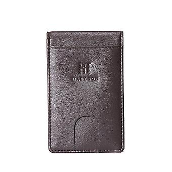 Hauton Bi Fold Credit Card Money Clip Wallet