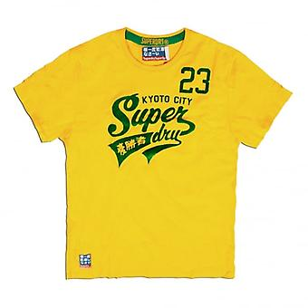Superdry Sale Hi-Number 23 Tee, Gold