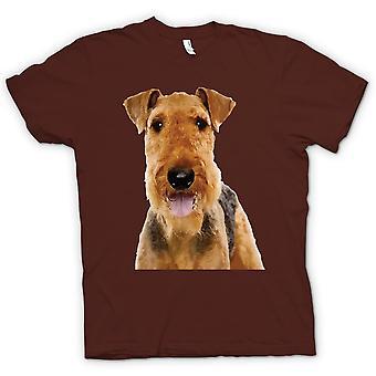 Herren T-Shirt - Airdale Terrier Hund