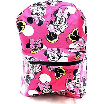 Backpack - Disney - Minnie Mouse Pink School Bag New 100230