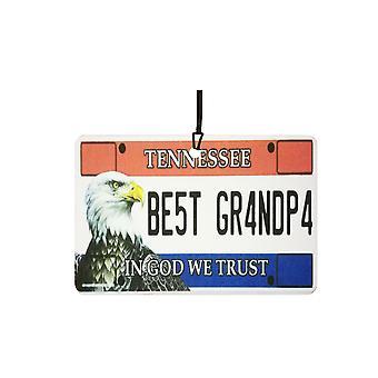 Tennessee - bedste bedstefar licens plade bil luftfriskere