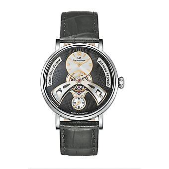 Carl von Zeyten Men's Watch Wristwatch Automatic Baden-Baden CVZ0042GY
