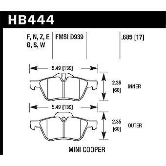 Hawk Performance HB444N.685 HP Plus
