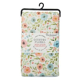 Cooksmart Country Floral Large PVC Table Cloth