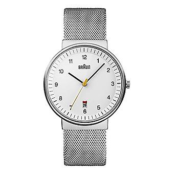 Braun Clock Unisex ref. BN0032WHSLMHG