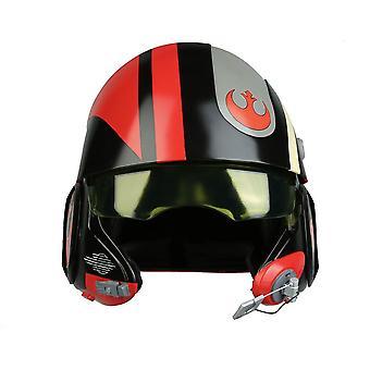 Star Wars Poe Dameron Black Squadron helm