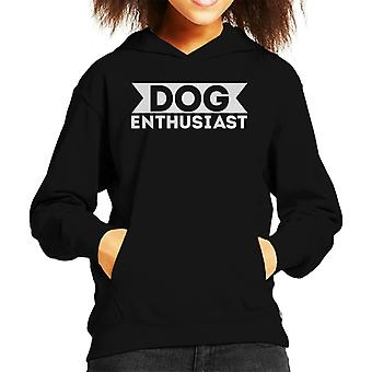 Hund Enthusiast Kid's Kapuzen Sweatshirt