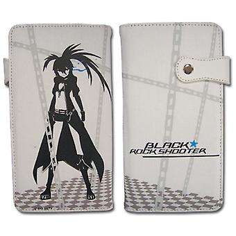 Hinge Wallet - Black Rock Shooter - New BRS & Chain White Licensed ge61518