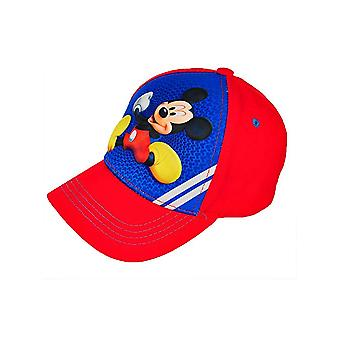 Baseball Cap - Disney - Mickey Mouse - Red/Blue Kids/Boys 374089