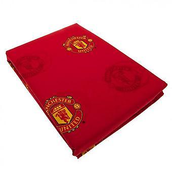 Man Utd Repeat Crest Curtains