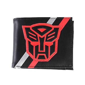 Transformers Wallet Autobot Head Logo ew Official Black Bifold