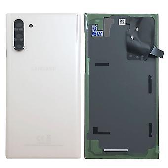 Samsung GH82-20528B batterij cover cover voor Galaxy Note 10 N970F Aura wit reserveonderdeel