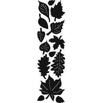 Marianne Design herfstbladeren Craftables Punch sterven, grijs
