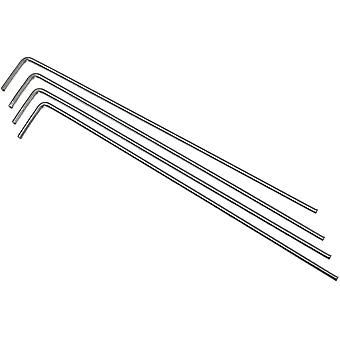Lansky Guide Rods Package-4, for Knife Sharpening System Kits & Hones #LROD4