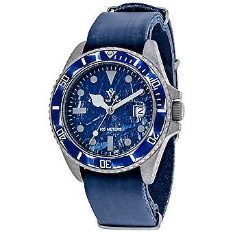Christian Van Sant Hommes apos;s Montego Vintage Blue Dial Watch - CV5203