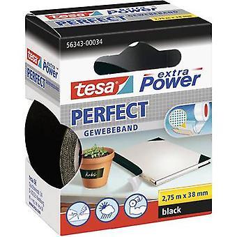 tesa 56343-00034-02 Tygtejp tesa® Extra Power Black (L x W) 2,75 m x 38 mm 2,75 m
