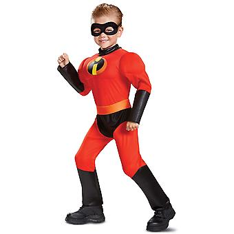 Dash Muscle Disney Pixar Superhjältarna 2 superhjälte småbarn pojkar Costumee