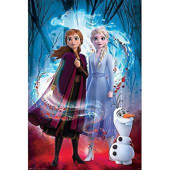 Bevroren 2 begeleide geest poster