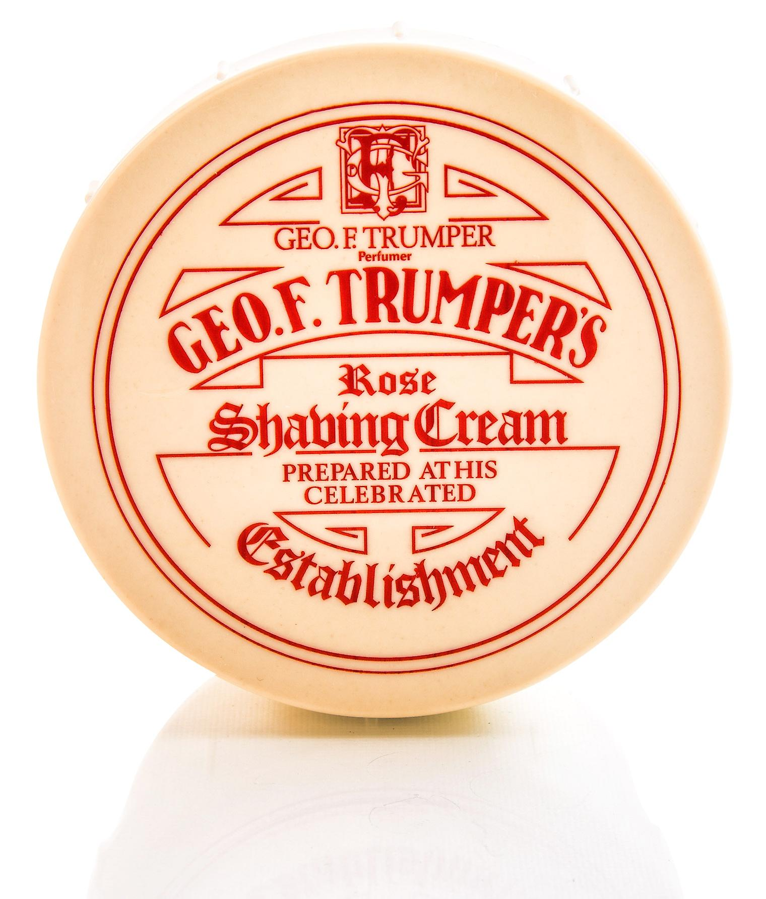 Geo F Trumper Rose Soft Shaving Soap Pot - 200g