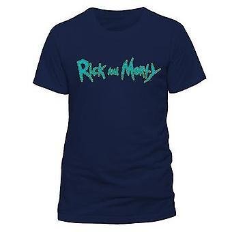 Rick And Morty-Logo T-Shirt