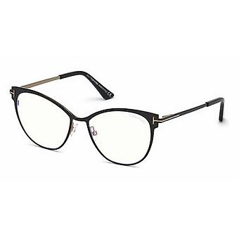 Tom Ford TF5530-B 001 Shiny Black-Blue Filter