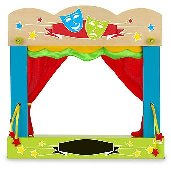 Fiesta Crafts Carry-case Finger Puppet Theatre