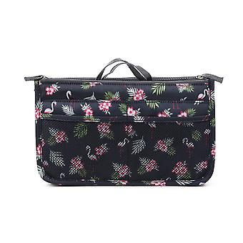 Bag in Bag Hand-Sniffing Bag Squirt Flamingo Black