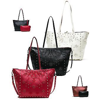 Desigual Women's Darkness Portland Shopper Bag
