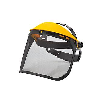 Portwest browguard with mesh visor pw93