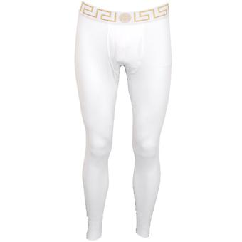 Versace Iconic Long Johns, Bianco/oro