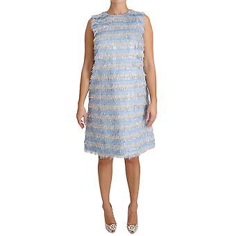 Dolce & Gabbana Fringe Sukienka suknia shift