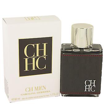 CH Carolina Herrera przez Carolina Herrera Woda toaletowa Spray 1,7 uncji/50 ml (mężczyźni)