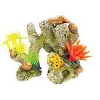 经典宠物珊瑚石 / 植物 4pcs (鱼 , 装饰 , 装饰)
